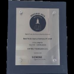 Best Performance Partner 2018 - Siemens